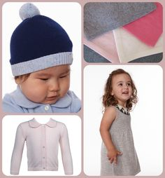 Adorable holiday party clothes for babies + kids at eden + zoe. The greys, pale pinks and neutrals are a nice break from all the red and pine green and ensure you'll get use out of it all season.
