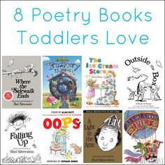 8 Poetry Books for Toddlers 8 awesome poetry collections for kids that toddlers will love from And Next Comes L. Preschool Books, Toddler Preschool, Toddler Activities, Toddler Books, Childrens Books, Good Books, My Books, Poetry For Kids, Book Of Poems