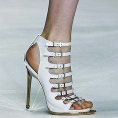 Small detail in showing the middle sole.  The Daily Shoe | Roberto Cavalli - NYTimes.com