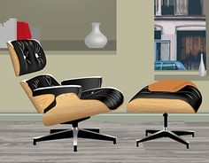 "Check out new work on my @Behance portfolio: ""Fauteuil Lounge Eames -Illustrator"" http://be.net/gallery/46748339/Fauteuil-Lounge-Eames-Illustrator"