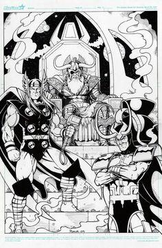 Odin Thor Loki
