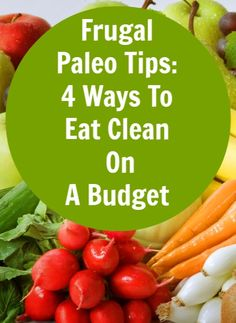 Good info for those of us who want to eat clean on a budget.