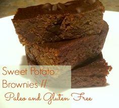 The Dwelling Tree: Double Chocolate Sweet Potato Brownies (Paleo, Gluten Free)