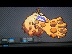 Spine animation Durian - YouTube