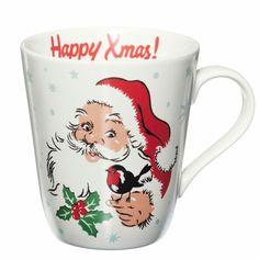 Vintagey Christmas mug by the amazing Cath Kidston.