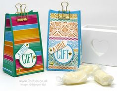 Stampin' Up! Demonstrator Pootles - Festive Fiesta Goodie Bag
