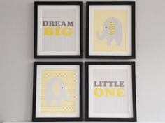 Set of 4 12 x 10 inch mounted frames  Hand made to order  Choice of black or white frame  FREE UK DELIVERY