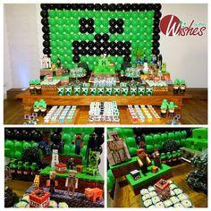 Sugestões e ideias para festa no tema Minecraft – Inspire sua Festa ®