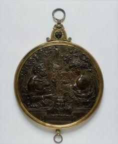 Mirror case: The Martelli Mirror; The Martelli Mirror; Caradosso; ca. 1495-1500 (made) ca. 1475-1500