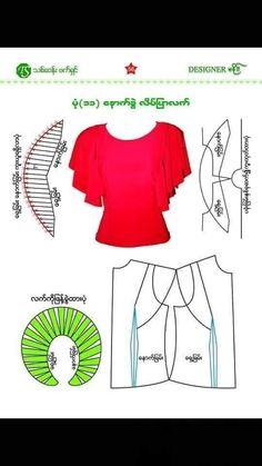 Sewing Clothes, Diy Clothes, Clothes For Women, Pattern Drafting Tutorials, Blouse Tutorial, Kurti Neck Designs, Dress Sewing Patterns, Fashion Sewing, Sewing Techniques