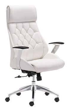 Beautiful Narcissist Office Chair | White   The Mod Gallery