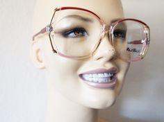 BFF // Vintage 80s Eyeglasses Womens Barb Stranger by lessthanzero