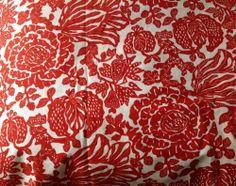 VTG fabric material 'Medlar Tree' by Conran Heals era 1M 1960's 1970's
