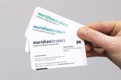 Meridian Brokers Visual Identity | Foundry Creative