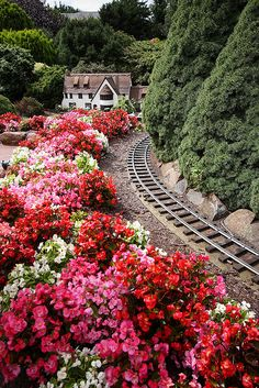 ~ by a railway!!