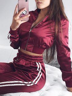 Trends For Women S Fashion 2018 Sporty Outfits, Swag Outfits, Mode Outfits, Trendy Outfits, Fashion Outfits, Suit Fashion, Woman Fashion, Fashion Clothes, Trend Fashion
