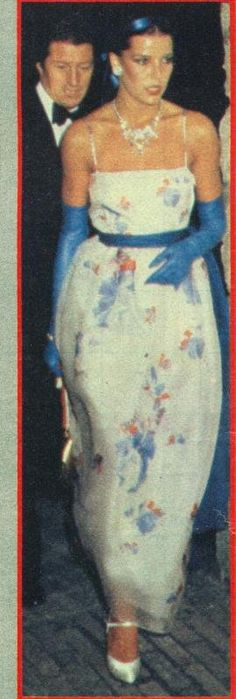 Carolina en 1979 recién casada con Junot