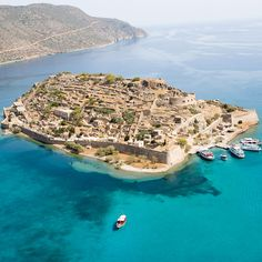 Once a #leperscolony, the fortified islet of #Spinalonga is now the second most popular visitor's destination in the area of #Crete (following #Knossos). A huge #restoration program and a #bestseller ( #TheIsland by #VictoriaHislop ) turned the once island of the damned into a possible future #UNESCO #heritagesite.
