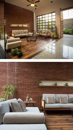 Indian Home Design, Indian Home Interior, Kerala House Design, Home Room Design, Home Interior Design, Living Room Designs, India Home Decor, Ethnic Home Decor, Modern Exterior House Designs
