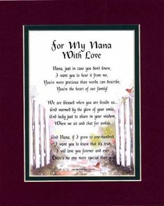 """""""Son-In-Law"""" Touching Poem, Double-matted In Burgundy/Dark Green And Enhanced With Watercolor Graphics. A Gift For A Son-in-law. Poems For In-laws"""