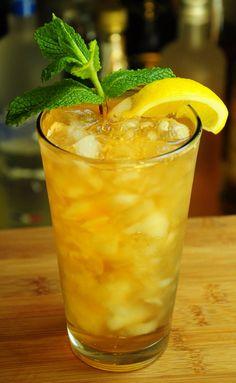 Mint Julep Lemonade   Barman's Journal #Mintjulep #Lemonade