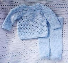 Newborn Crochet, Crochet Baby, Blanket Crochet, Knit Crochet, Toddler Sweater, Thing 1, Sport Weight Yarn, Boy Blue, Dress With Bow
