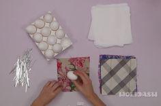 Avvolge delle Uova nella Seta e le cuoce. Ecco un'idea molto elegante per DELIZIARE i vostri ospiti.
