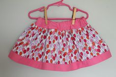 Ready To Ship Twirl Skirt-  Size 3T  Michael Miller Children at Play Balloons by Sarah Jane. $22.00, via Etsy.