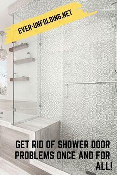 Get Rid Of shower door Problems Once And For All! Vigo Shower Doors, Shower Door Hardware, Frameless Shower Doors, Dreamline Shower, House, Home, Homes, Houses