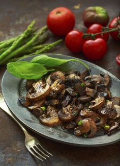 Mushroom Sauce: Serve as Appetizer or Over Beef, Lamb, Duck or Chicken