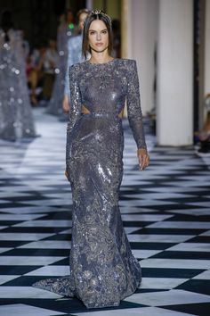 f48853929af1 Zuhair Murad Fall 2018 Couture Fashion Show Collection  See the complete  Zuhair Murad Fall 2018 Couture collection. Asma ...