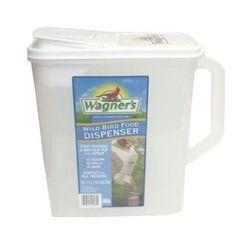 Wagner's 6 Qt. Wild Bird Food Dispenser, Clear