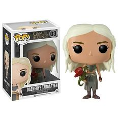 Game of Thrones Daenerys Targaryen Pop! Vinyl Figure - Funko - Game of Thrones - Pop! Vinyl Figures at Entertainment Earth