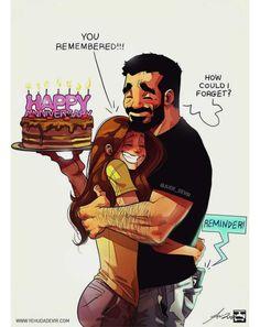 Illustrator Yehuda Devir creates funny relationship comics about him and his wife, Maya. Cute Couple Comics, Couples Comics, Cute Couple Art, Couple Cartoon, Funny Couples, Sweet Couple, Relationship Drawings, Relationship Comics, Bd Comics