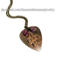 Handstamped Jewelry - Susana ManzanaJewelry & Gifts