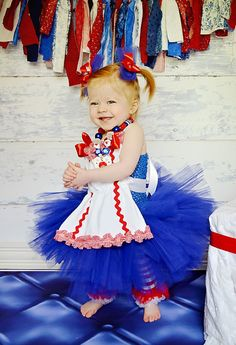 Raggedy Ann inspired tutu dress and by SofiasCoutureDesigns, $79.00