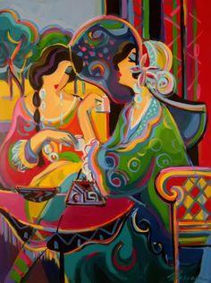 Afternoon Tea by Bernard Maimon