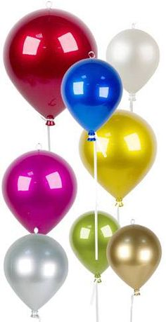 Ballons à suspendre