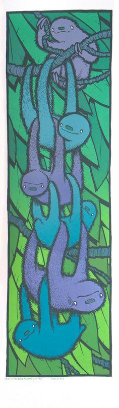 """Choloepus"" Art Print by Jay Ryan #sloths"
