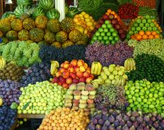 Fruit market~ Bodrum, Turkey 2011