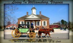 Living In Williamsburg, Virginia
