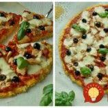 Z tejto pizze sa nedá pribrať: Žiadna múka, naučte sa pizzu z cuketového cesta, vždy sa po nej len zapráši!