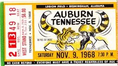 Pinterest football ticket football gift and auburn football tickets