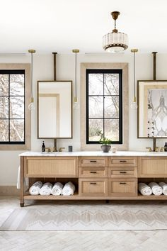 Waterworks Tile, Glazed Brick, Minnesota Home, Neutral Bathroom, Style Deco, Home Office Space, Rustic Table, Large Homes, Painting Cabinets