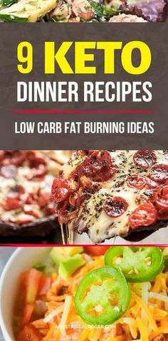 Try these 9 Easy Keto Recipes for a Healthy Dinner for your Ketogenic diet. Improve your keto meal plan with these easy low carb Keto ideas that will help you burn fat and lose weight faster! Ketogenic fat bombs will help in your winter diet when you need a lot of energy and want to cut carbs. #keto #lowcarb