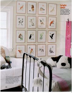 Alphabet Cards On Hooks Love This Land Of Nod Sells Them We Have