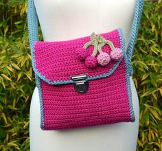 Ravelry: Girls bag (free pattern) pattern by Annelies Baes (Vicarno)