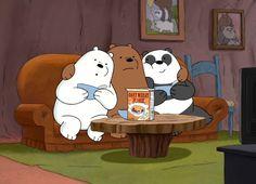 We Bare Bears — relatable-pictures-of-panda: Allergies… Foto Cartoon, Tumblr Cartoon, Bear Cartoon, We Bare Bears Wallpapers, Panda Wallpapers, Cute Cartoon Wallpapers, Ice Bear We Bare Bears, We Bear, Funny Panda Pictures
