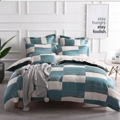 The Rowan Teal quilt cover Set is sure to lift any bedroom. Featuring Teal with specks of silver on a linen backdrop....#quiltcovers #doonacovers #superkingquiltcovers #superkingbedlinen #bedlinen #linen #bedding #kingsheets #superkingsheets #quiltcover #homedesign Teal Quilt, Orange Quilt, Black Quilt, Superking Bed, Wool Quilts, King Sheets, Mattress Protector, Quilt Cover Sets, Queen Beds