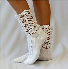 nice Tığ İle Çorap Modelleri